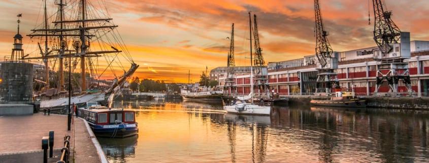 Philip Clark - Bristol Sunrise 2
